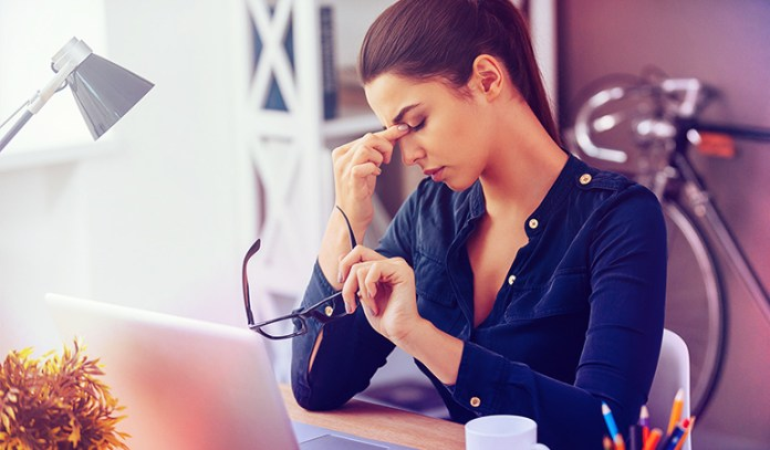Stress more dangerous in women under 50 constant fatigue