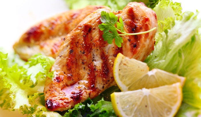 Chicken breasts are rich in protein