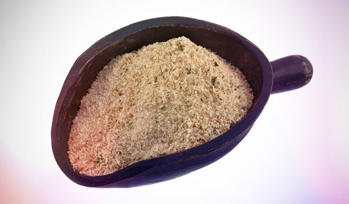 Breadcrumbs can be made from heels of breads