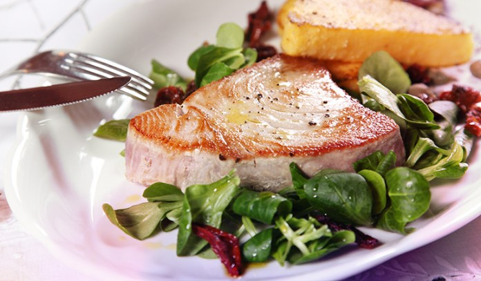 Tuna is rich in omega-3
