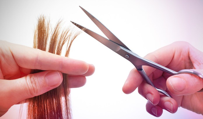 Trimming gets rid of split ends, allowing hair to grow healthier and stronger.