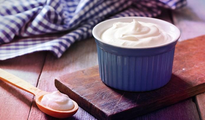 Greek yogurt is rich in protein