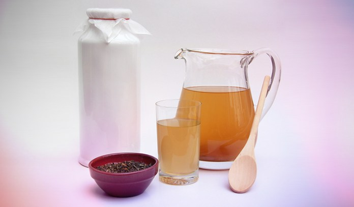 Consume kombucha tea to keep your gut healthy