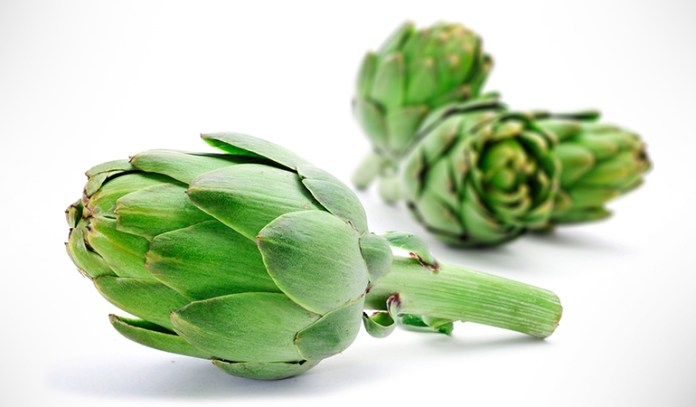Artichokes are rich in vitamins and fiber that helps improve digestion, thereby ridding the body of toxins that may cause acne.