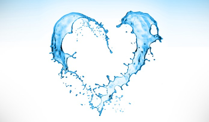 Water reduces risk of heart disease