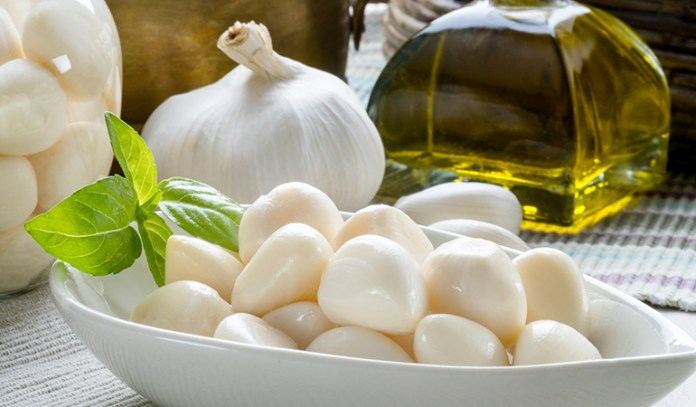Garlic has antibacterial properties and can solve sore throats