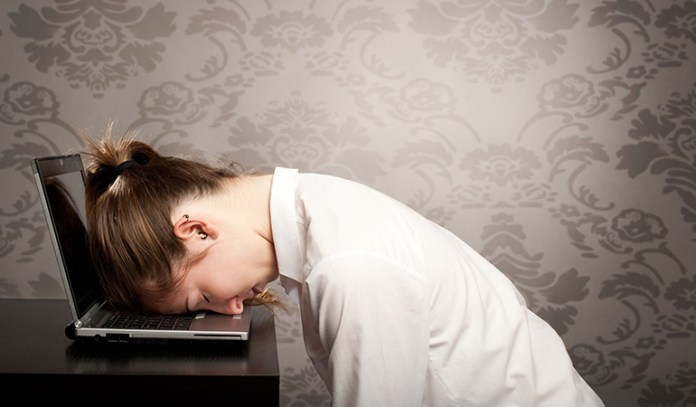 Thyroid dysfunction will leave you tired throughout the day.