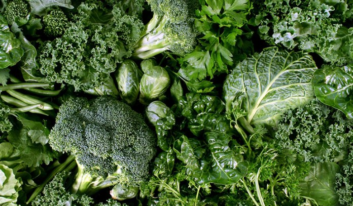 green fruits and vegetables for the fourth chakra