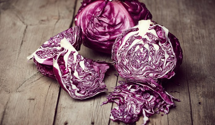 purple vegetables for the sixth and seventh chakras