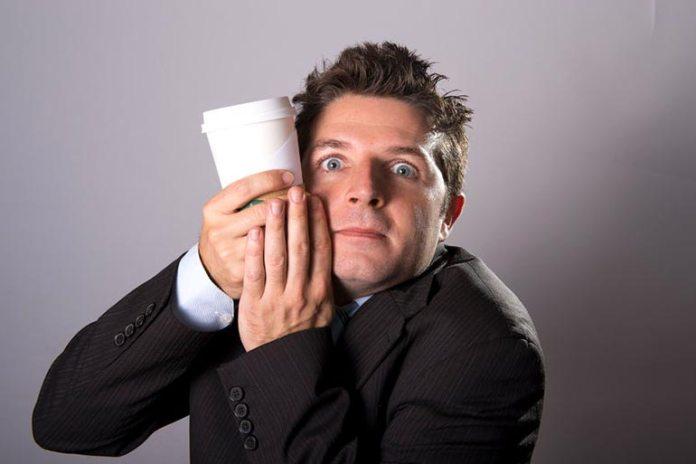 Comedians mimic maniac behavior
