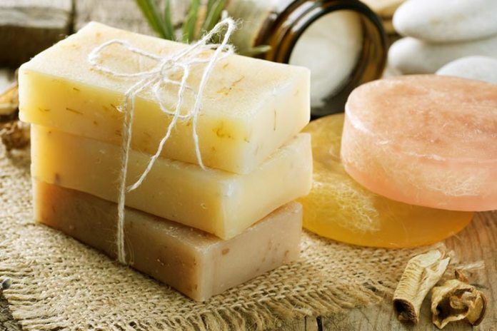 Soap contains lots of chemicals and additions that are not good for the sensitive area such as the genitals.