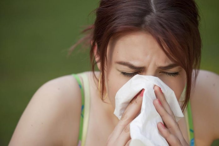 sneezing protects the respiratory system
