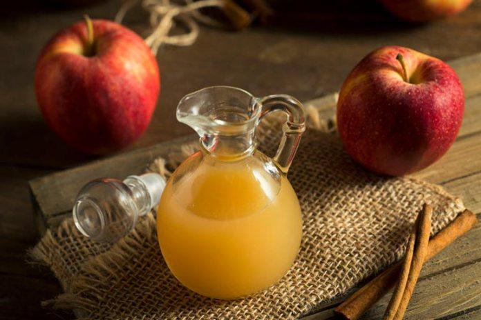 Raw apple cider vinegar has many benefits
