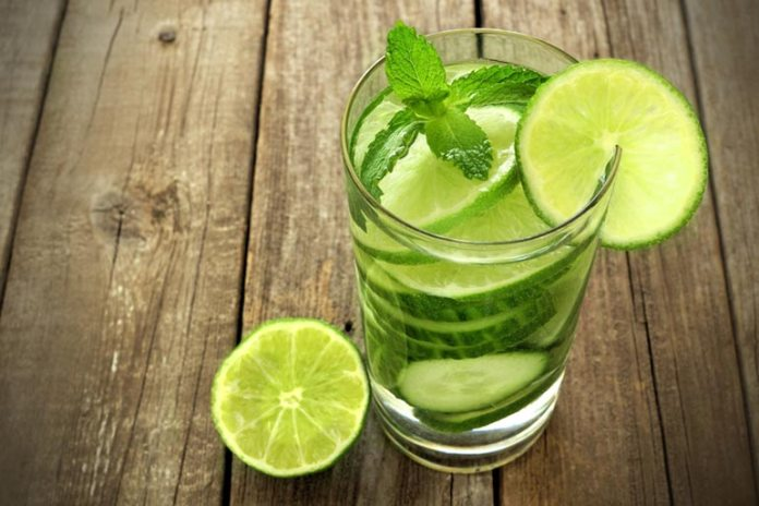 Cucumber Water Stops Excessive Facial Sweating