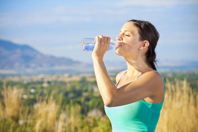 Hydration Stops Excessive Facial Sweating