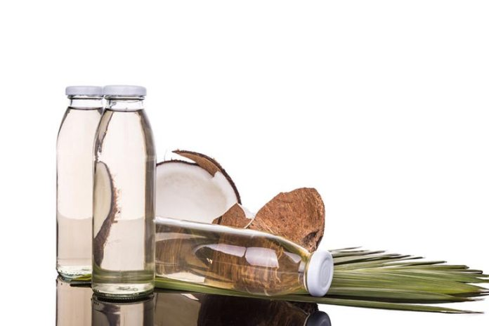 Virgin coconut oil is best suited for skin application.