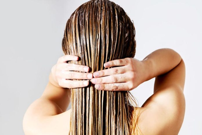 This will help strengthen hair and prevent friction