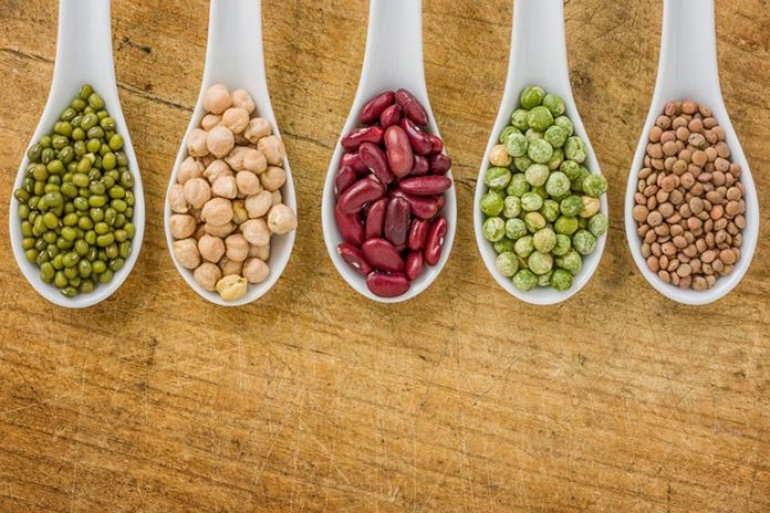 legumes: high in protein, reduces calorie intake