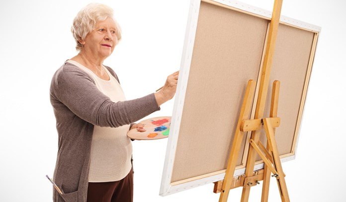 Activities like painting and drawing are said to stimulate brain cells and improve memory power.