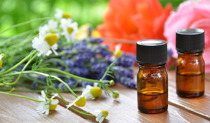 Aroma Of Flowers, Herbs, And Plants Is Used In Healing