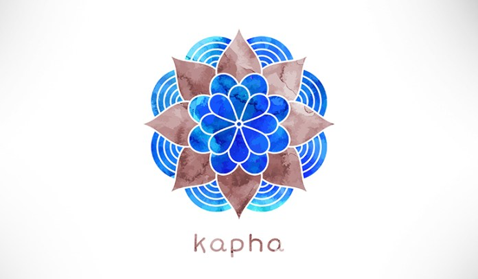 Kapha dosha is ruled by the elements earth and water