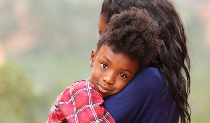 make your child feel loved during a divorce