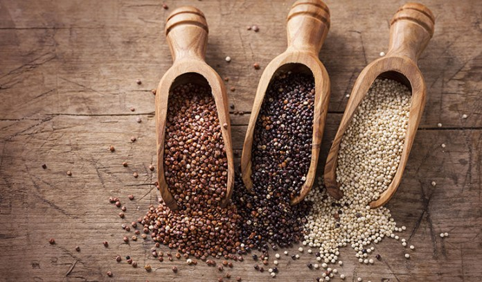 gluten-free quinoa is a superfood