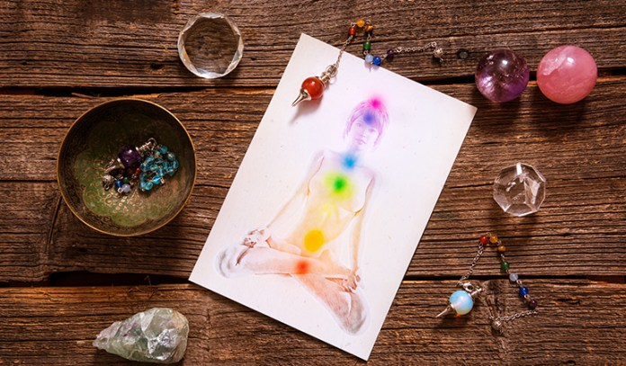 each chakra has a specific color for its balance