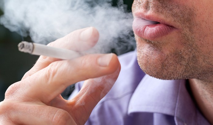 Smokers have significantly higher levels of triglycerides than non smokers