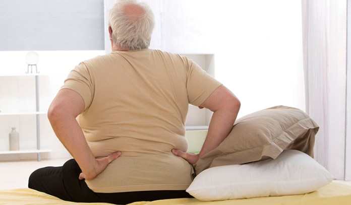 Some types of back pain have nothing to do with body weight