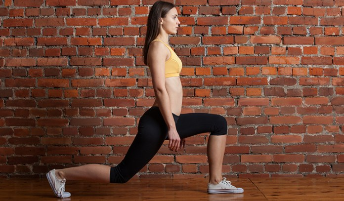 alking lunges for a voluptuous butt