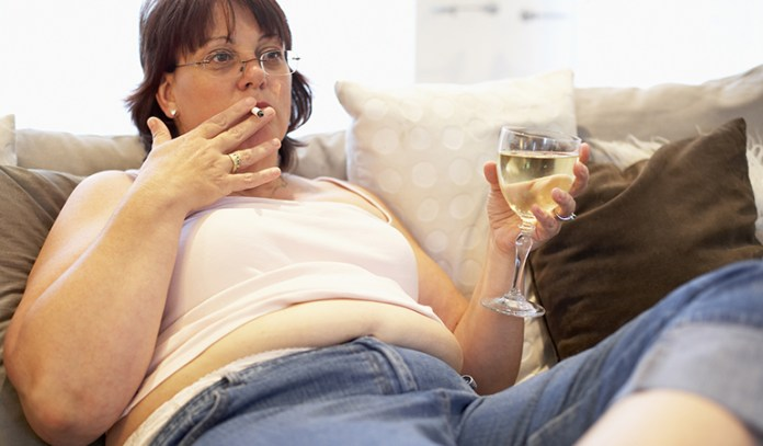 Quit smoking when trying to conceive