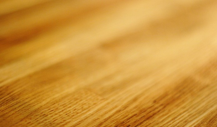 Coconut oil protects wood from dust.