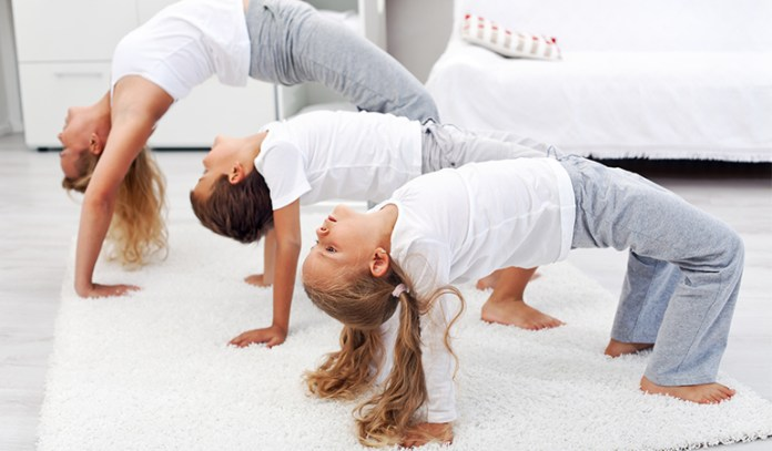 Yoga Twister Increases Creativity With Traditional Poses