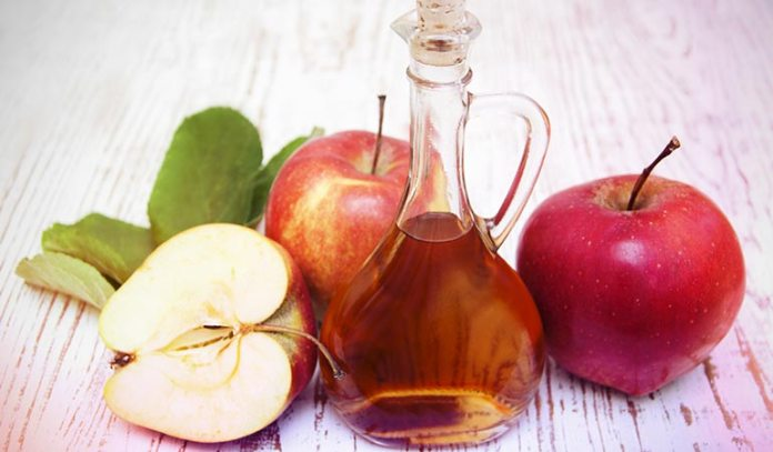 Apple cider vinegar can be used alone or with other ingredients to treat dandruff