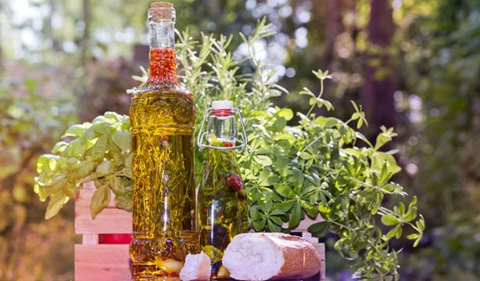 Oregano oil can be used with coconut oil or olive oil.