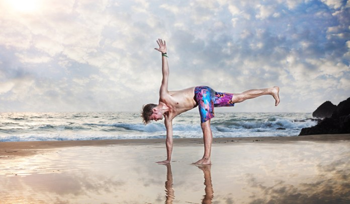 This pose helps with the strengthening of the abdominal muscles