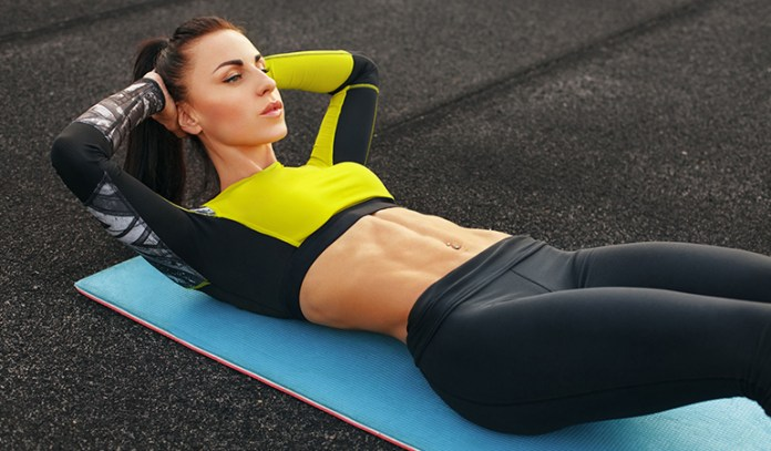 Crunches strain your back.