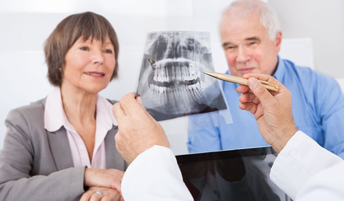 tooth loss and gum problems occur with age