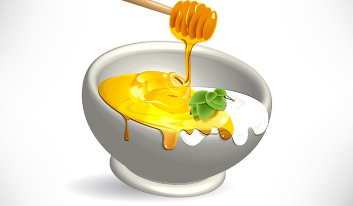 Honey and milk cream are effective in making the skin glow