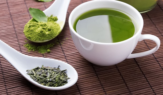 Hydrate yourself with green tea