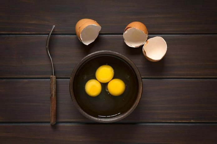 Many people discard the yolk thinking it's bad for healthier