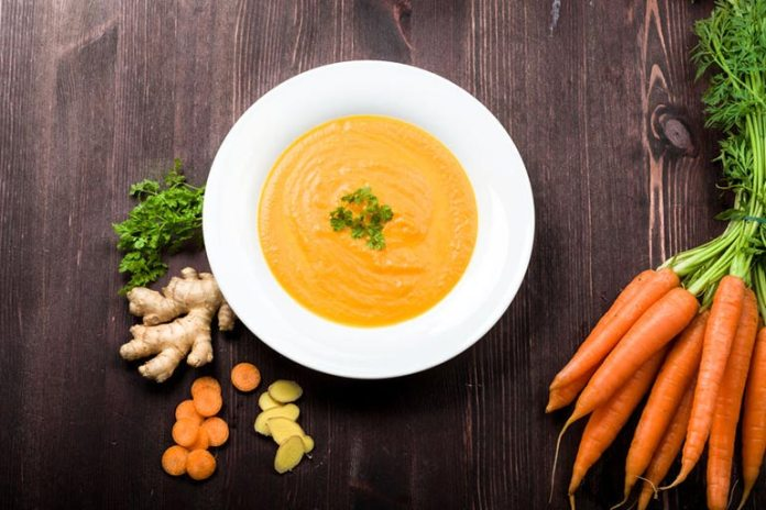 Carrot And Ginger Soup Is Good For Indigestion