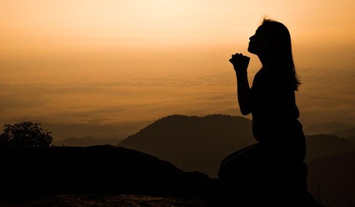 Pray to God for forgiveness