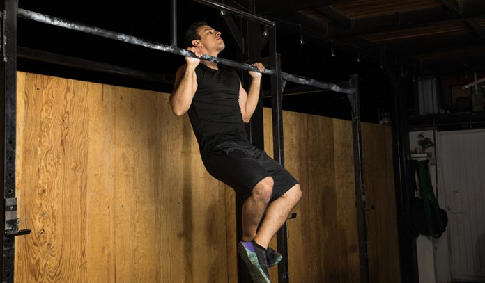 Pull-ups can help you pull and lift heavy objects