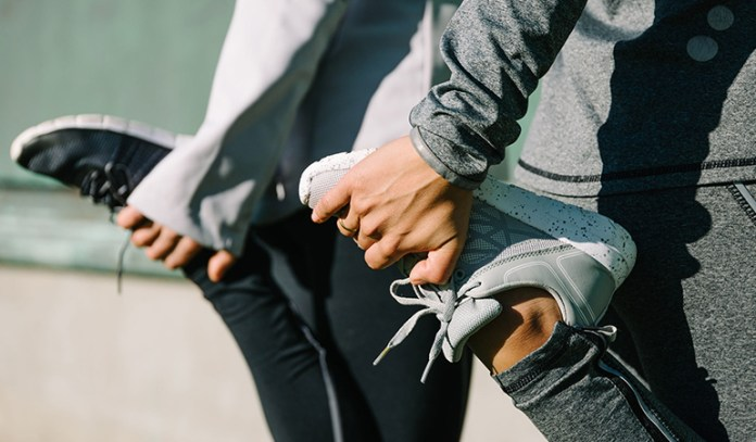 Stretching and exercising can help relieve cramp pain