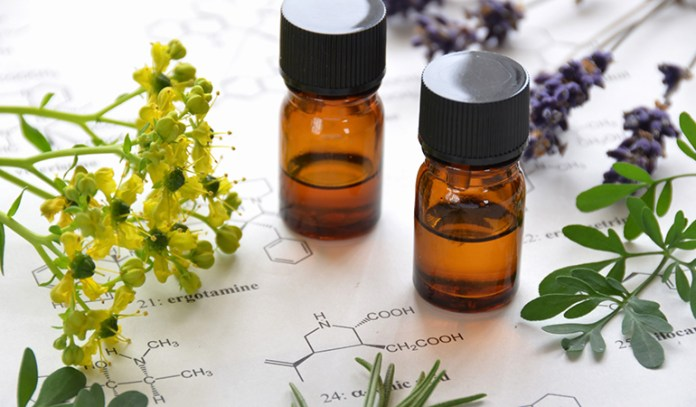 Using some essential oils helps with the healing process