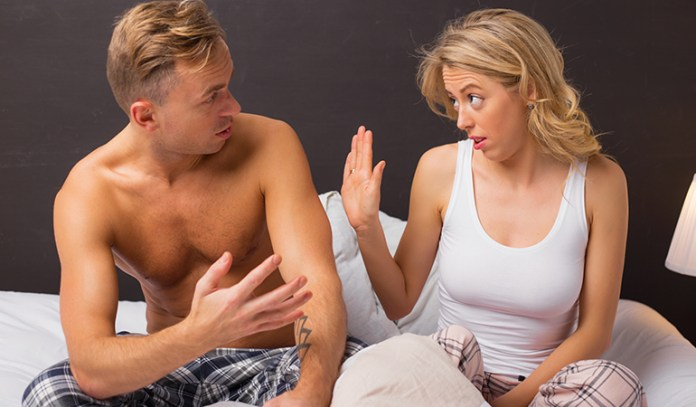 When speaking to your partner, ask respectfully and kindly so as not to hurt him or her.