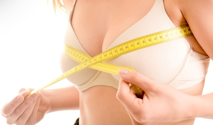 Going bra-free results in toned chest muscles that make your breasts appear naturally fuller and rounder.