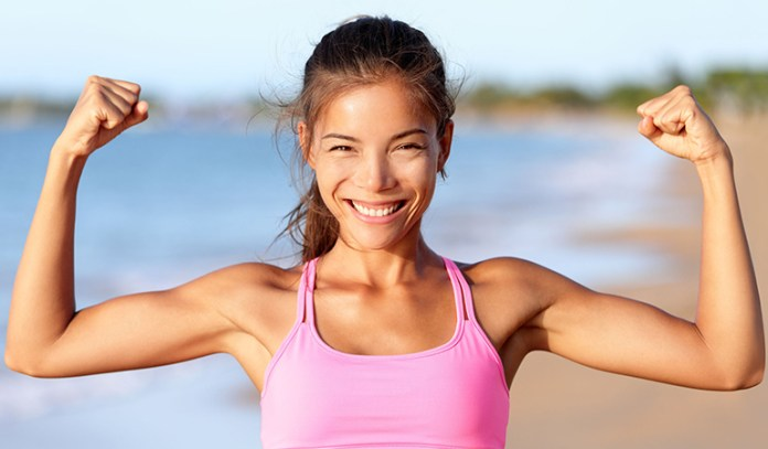 Going bra-less keeps your chest muscles strong so they are able to hold up your breasts and make them look perky.